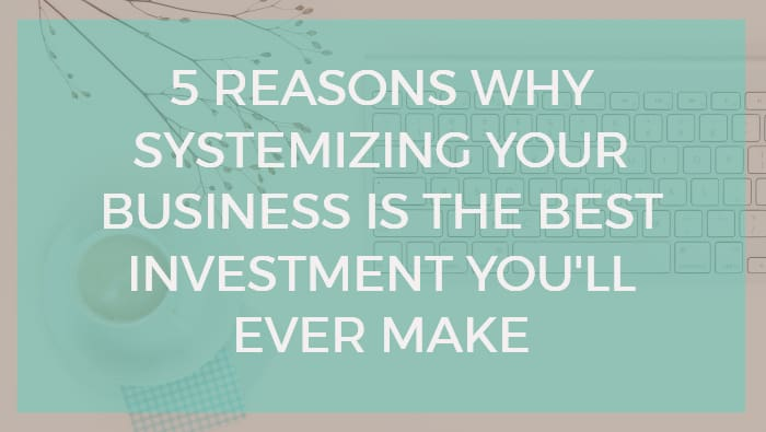 systemized business